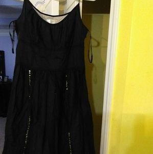 A black dress